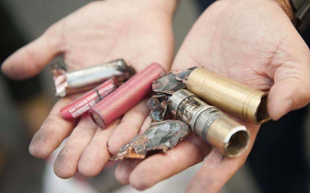 explosion de batterie de cigarette électronique