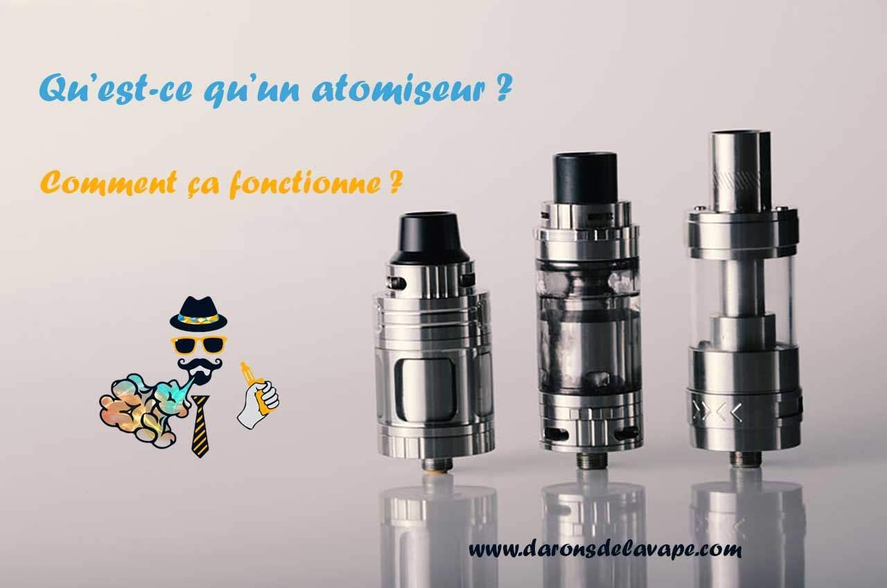 les différents types d'atomiseur